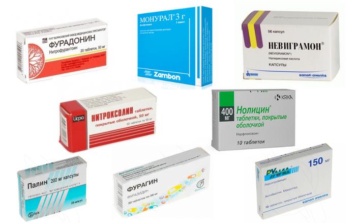 Препараты от цистита
